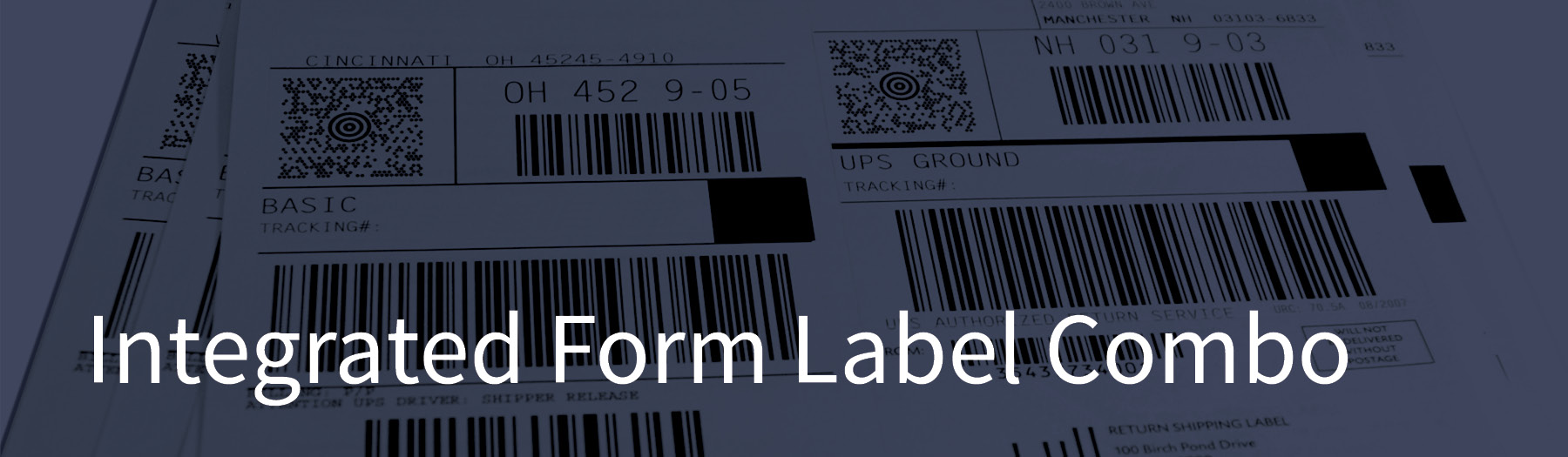 Integrated Label Forms