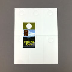 REVLAR Die-Cut Door Hangers 6 Up