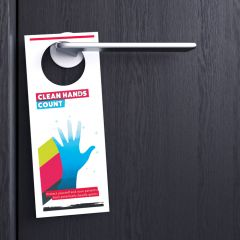 Durable door hanger