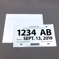 REVLAR Texas License Plate - Laser Printer Only